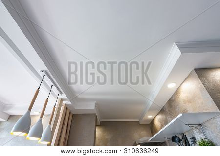 False Ceiling In A Small A Kitchen