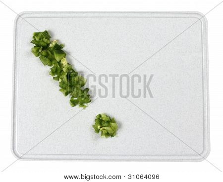 Green Pepper Exclamation