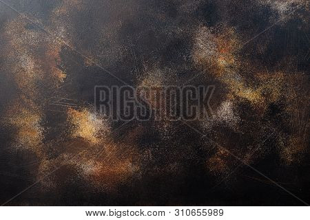 Metal Corroded Texture Background. Abstract Metal Rusty Texture