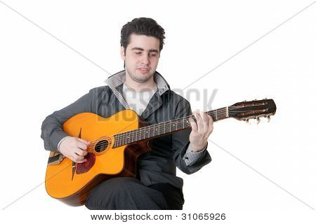 Portrait Of The Guitarist
