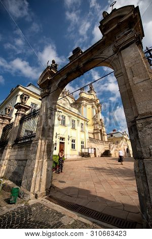 Lviv, Ukraine - 2018/07/07: The St.yura Cathedral