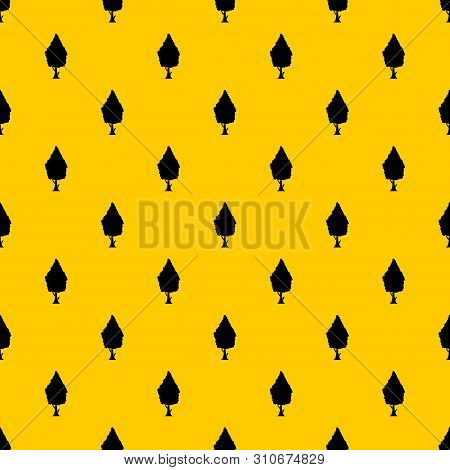 Cypress Pattern Seamless Vector Repeat Geometric Yellow For Any Design