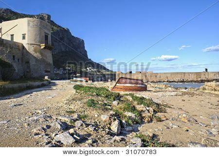 landscape of Palermo- Arenella