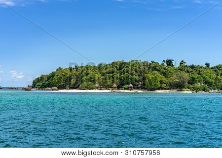 Munnok Island, East Of Thailand, The Private And Peaceful Island. Shooting From Outside In.