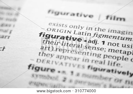 Word Or Phrase Figurative In A Dictionary