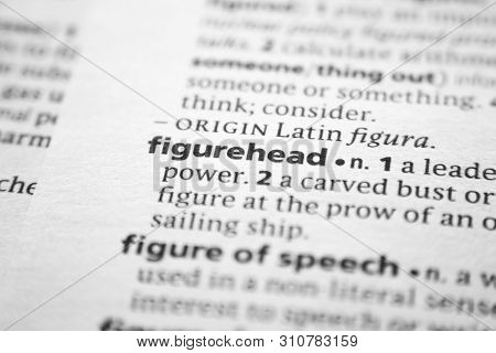 Word Or Phrase Figurehead In A Dictionary