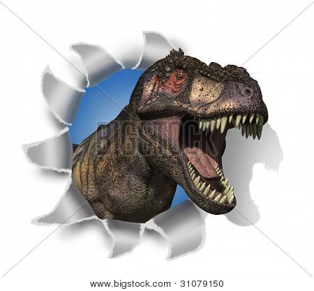 T-rex Rips Through Your Document!