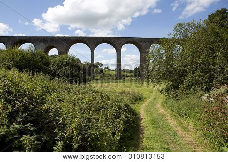 Pensford Viaduct Is A Disused Railway Bridge In The Village Of Pensford Within The Historic English