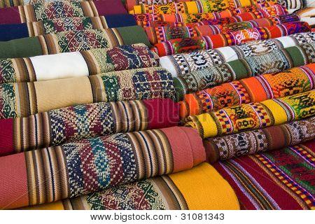 traditionelle andine Wandbehang