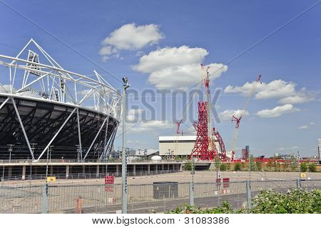 London - May24; London 2012 Stadium Nears Completion In Stratford London, May 24 2011
