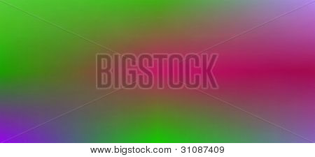 A metallic green, red, blue, purple abstract blur background poster