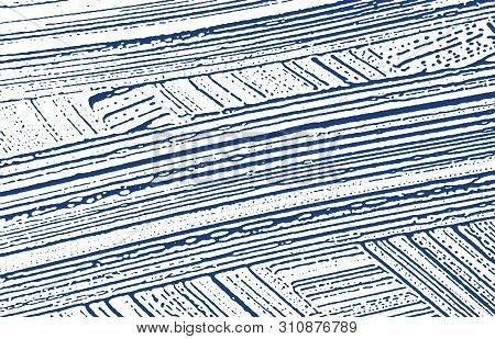 Grunge Texture. Distress Indigo Rough Trace. Enchanting Background. Noise Dirty Grunge Texture. Bril