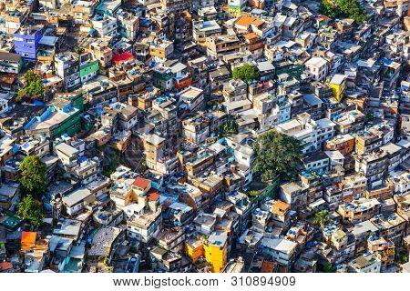 Rocinha community, favela in Rio de Janeiro