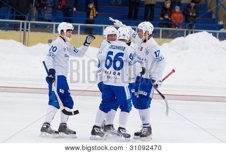 Dynamo(white) Vs Zorkij(blue)