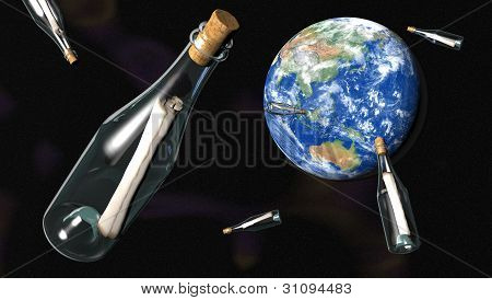 Messages In Bottles From Space