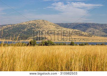 Landscape In The Pilanesberg National Park Nature Reserve
