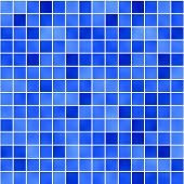 seamless tileable background of bathroom or swimming pool tiles or wall poster
