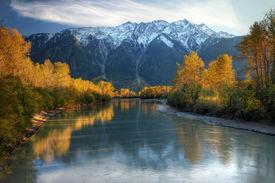 Autumn river, Canada