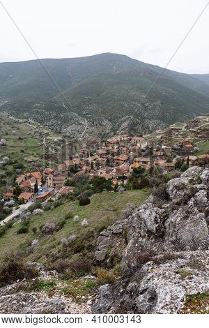 Panoramic View Of The Old And Touristic Village Of Patones