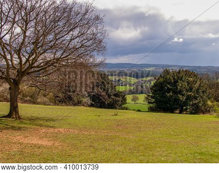 A View From Newlands Corner Near Guildford, Surrey