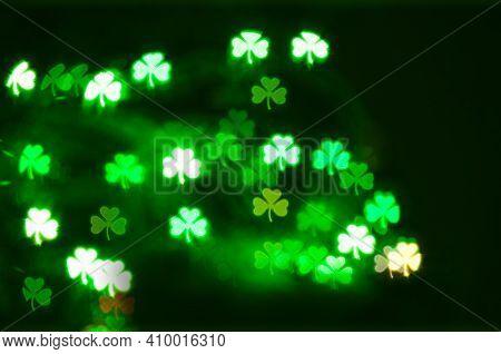 St. Patricks Day 2021, St Patricks day decor, green shamrock bokeh background, St Patricks day light background, St Patricks day design, St Patricks day card, St Patricks day pattern, St Patricks day background