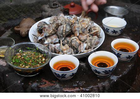 tea and Seafood