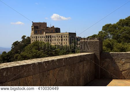 Felanitx, Majorca / Spain - August 25, 2016: Santuari De Sant Salvador Monastery, Santuario De San S