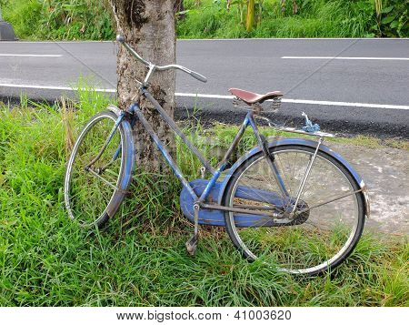 Old Traditional Bicycle