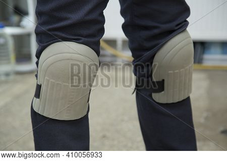 Knee Pads For Work.a Tool For Comfortable Work.