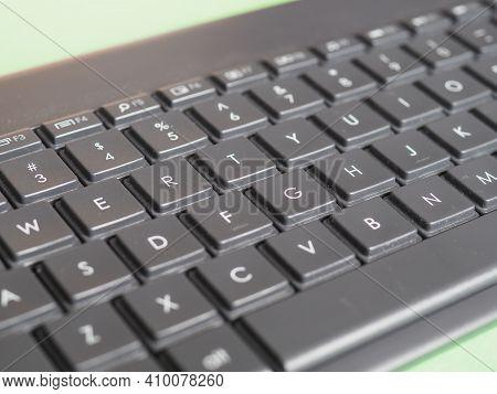 Keys On Computer Keyboard