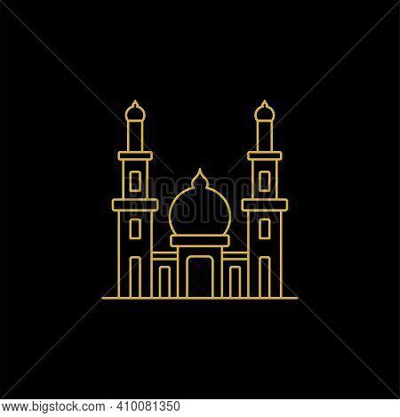 Mosque. Mosque Vector. Mosque Illustration. Mosque Islamic Symbol. Ramadan Kareem Sign. Mosque Moder