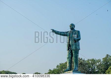 Bangalore, India - April 4 2019 : Statue Of Dr. B.r.(bhimrao) Ambedkar In Bangalore Karnataka