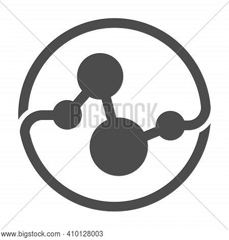 Multi-purpose Abstract Template For Logo, Brand, Or Sticker. Simple Style