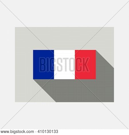 France Flag, Official Colors And Proportion Correctly. National France Flag. Flat Vector Illustratio