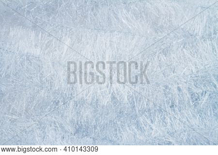 Silver Tinsel With Wrinkles Textured Material Background With Copy Space For Message Or Use As A Tex