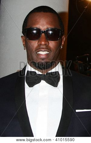 LOS ANGELES - JAN 13:  Sean Combs arrives at the 2013 HBO Post Golden Globe Party at Beverly Hilton Hotel on January 13, 2013 in Beverly Hills, CA..