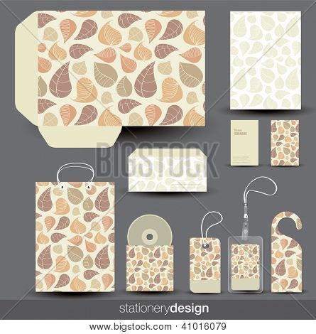 Stationery design set. Vector format in portfolio. poster