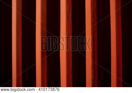 Background Texture. Sea container Red, Trade, Transport,