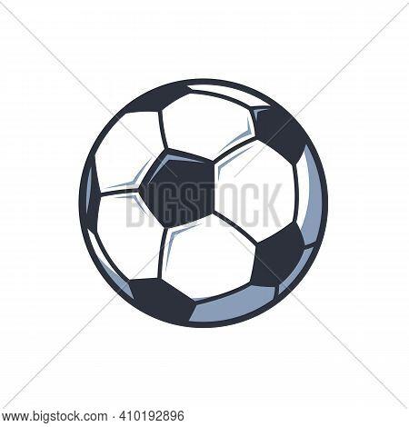 Soccer Ball Icon Logo Template, Football Logo Symbol