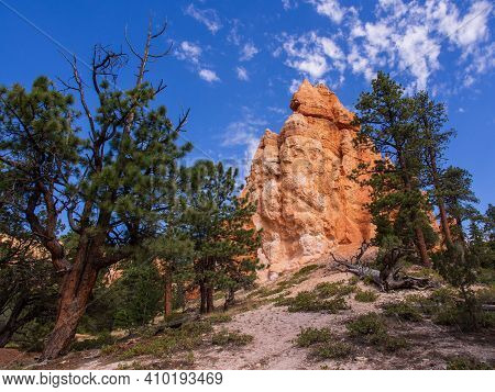 Bryce Canyon National Park, A Sprawling Reserve In Southern Utah, Is Known For Crimson-colored Hoodo