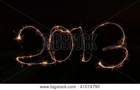 2013 made a sparkler