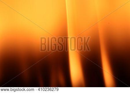 Burning Flames Background. Blaze Fire Texture. Glowing Dangerous Burl Light Backdrop. Danger Blazing