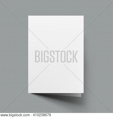 Folded A5 Or A4 Brochure Mock-up Template