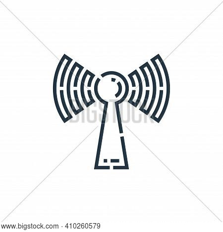 wifi icon isolated on white background from videoblogger collection. wifi icon thin line outline lin