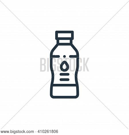 water icon isolated on white background from taxi service collection. water icon thin line outline l