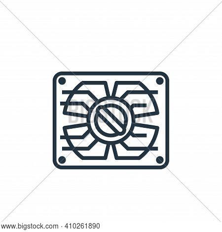 washing program icon isolated on white background from laundry collection. washing program icon thin
