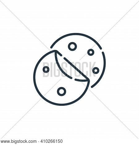 tortilla icon isolated on white background from mexico collection. tortilla icon thin line outline l