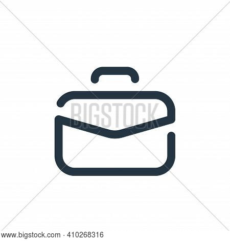suitcase icon isolated on white background from travel collection. suitcase icon thin line outline l