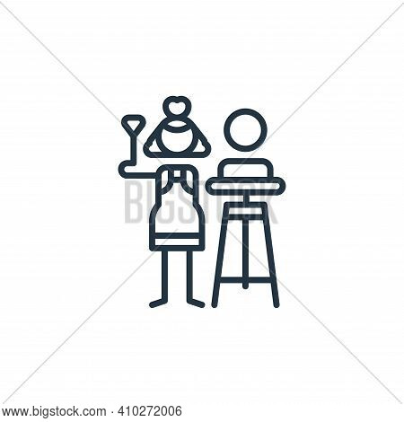 sculpture icon isolated on white background from general arts collection. sculpture icon thin line o