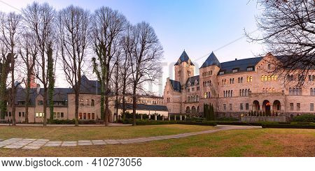Panoramic View Of The Imperial Castle In The Evening, Poznan, Poland